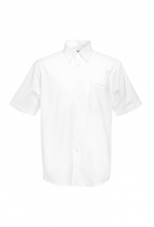 SS112 Oxford Short Sleeved Shirt (S To 3XL)  5 COLOURS