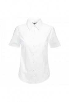 SS003 Ladies Fit Short Sleeved Oxford Shirt (XS To 3XL)  5 COLOURS