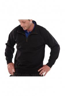 CLQZS Click Workwear 1/4 Zip SweatShirt (Xsmall to 6Xlarge) 2 COLOURS