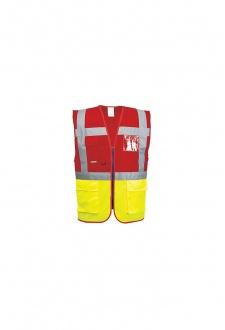C276 Hi Vis Exceutive Vests (Paris) (Small To 3XL)