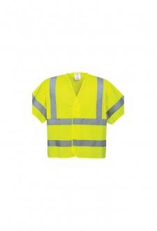 C471 Short Sleeved Hi Vis Vests (Small To 3XL)