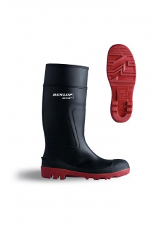D8864 Dunlop Warwick Full Safety Wellington (Size 6 to 12)