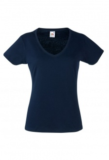 SS047 Ladys Fit ValueWeight V-Neck T-Shirt (XSmall To 2XL) 8 CLOURS