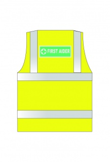 WCENGFA First Aid Hi Vis Vests (XSmall To 6XL)