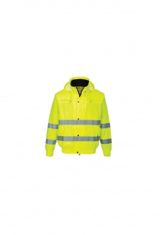 S161 Hi-Vis Lite Bomber Jacket (Small To 3XL)