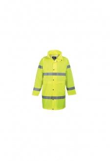 H442 Hi-Vis Rain Coat (Small To 2XL)