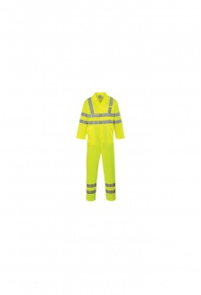 E042 Hi-Vis Poly-Cotton Coverall (Small To 3XL)