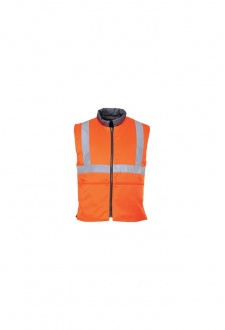 RT44 Hi-Vis Reversible Bodywarmer GO/RT (Small To 3XL)