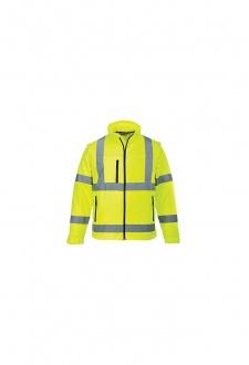 S428 Hi-Vis Softshell Jacket (Small To 4XL)