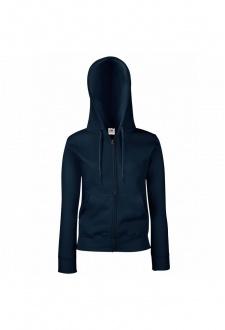SS312 Premium Ladies Full Zip Hooded Sweatshirt (XSmall to 2Xlarge) 8 COLOURS