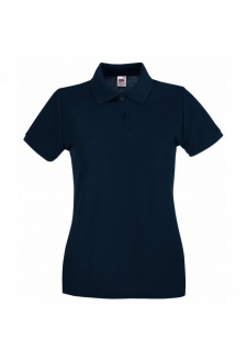 SS505 Lady-Fit Premium Polo 100% COTTON (XSmall To 2XL) 10 COLOURS