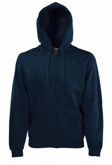 SS822 Premium 70/30  Full Zip  Hooded Sweatshirt (Small to XLarge) 7 COLOURS R