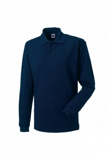 J569L Long Sleeve Classic Cotton Polo (XSmall to 2XL) 4 COLOURS