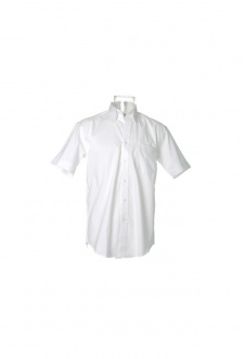 """KK109 Corporate Oxford Short Sleeved Shirt  (Collar Size 14.5"""" To 19.5"""") 10 COLOURS"""