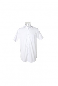 "KK115 Premium Non Iron Corporate Short Sleeved Shirt (Collar size 14.5"" To 18.5"") 2 COLOURS"