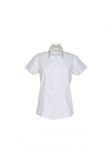 KK728 Womens Workforce Short Sleeved Blouse  (Size 8 To Size 28)  3 COLOURS