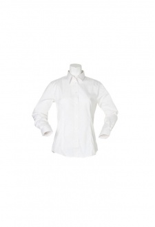 KK729 Womens WorkForce Long Sleeved Blouse (Size 8 To 24)  3 COLOURS