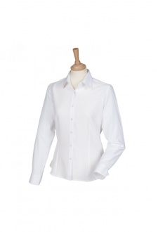 HB591 Womens Wicked Anti-Bacterial Long Sleeved Shirt  (XS To 4XL)  6 COLOURS