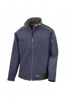 R124A RipStop Softshell Workwear Jacket (Small to 3XLarge) 3 COLOURS