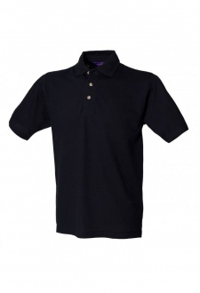 HB100 Classic Polo With Stand Up Collar (Small to 3XL) 10 COLOURS