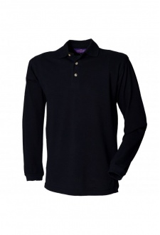 HB105 Long Sleeved Cotton Polo(Small to 2XLarge) 2 COLOURS