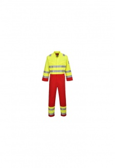 FR90 BizFlame Services Coverall (Small To 3XL)