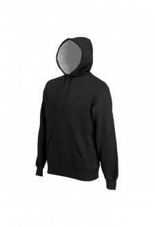 KB443 Heavy Contrast Hooded Sweatshirt (XSmall to to 3XLarge)  3 COLOURS