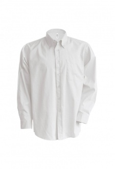 KB533 Long Sleeve EasyCare OxFord Shirt  (S To 6XL)  2 COLOURS