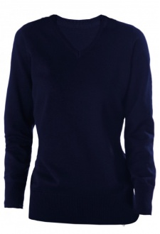 KB966 Womens V-Neck Jumper (Small to 2Xlarge) 2 COLOURS