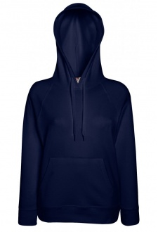 SS938 Lady-Fit Light Weight Hooded Sweat Shirt (XSmall to 2XL) 12 COLOURS