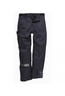 C387BL Lined Action Trousers Black (XSmall to 3XLarge)
