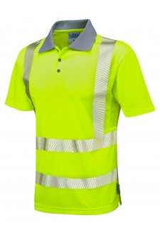 P03-Y Class 2 Woolacombe Coolviz Plus Polo Shirt (Small To 6XL)