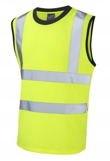 V01-Y Class 2 Ashford Poly/Cotton Vest (Small To 6XL)