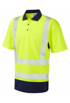P11-Y/NV Class Dual Colour Coolviz Plus Polo (Small To 6XL)