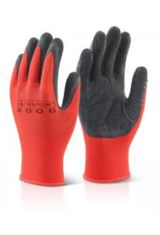 MP4 BLACK LATEX POLY GLOVE (Pack Size 10)