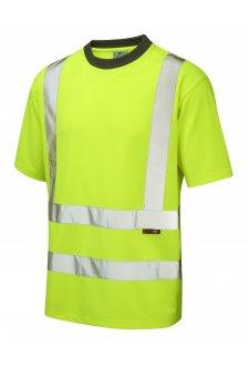 T02-Y Class 2 Braunton CoolViz T-Shirt (Small To 6XL)