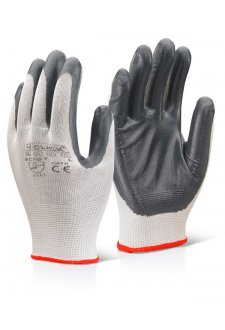 EC7  Budget Nitrile Coated Glove (Pack of 10)