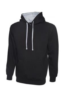 Contrast Hooded SweatShirt (Xsmall to 4Xlarge) 12 Colours