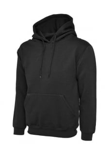 UC501 Premium Hooded Sweatshirt 50/50 Polycotton (Xsmall to 4XLarge) 4 COLOURS
