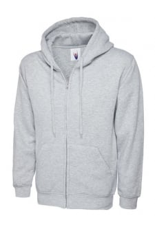 Classic Full Zip Hooded SweatShirt 50/50 pollycotton (Xsmall to 3Xlarge) 12 COLOURS