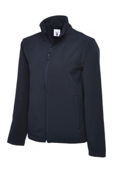UC612 Classic Full Zip Softshell Jacket Waterproof , Windproof , Breathable (Xsmall to 6Xlarge) 3 COLOURS