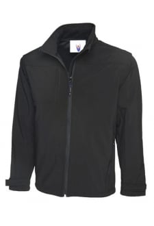 UC611 Premium Waterproof Full Zip Softshell Jacket (Xsmall to 3XLarge) 3 COLOURS