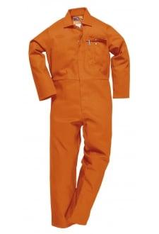 C030OR CE Safe-Welder Coverall Flame Resistant Orange (Reg)