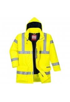 S778 - Bizflame Rain Hi-Vis Antistatic FR Jacket (Xsmall to 6XLarge)