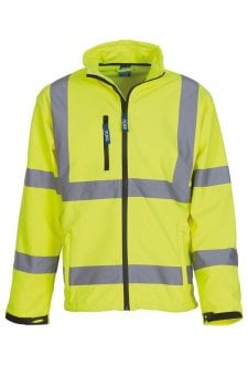 YK040 Hi-Vis SoftShell Jacket (Small To 3XL) 5 COLOURS
