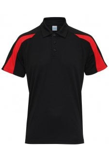 JC043 Contrast Cool Polo (Small To 2XL) 8 COLOURS