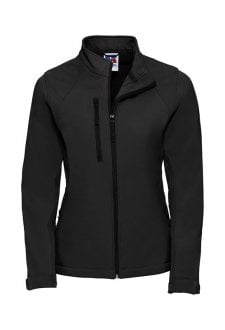 J140F Ladies Fit  Softshell Jacket (Xsmall to 3XLarge) 6 COLOURS