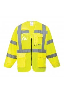 S475 Hi Vis Executive Vests (Portwest) (Small To 3XL)
