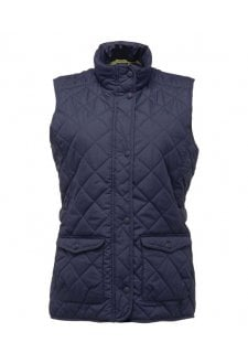 RG078 Ladies Fit Water Repellent  BodyWarmer (Size 8 to 20) 2 COLOURS