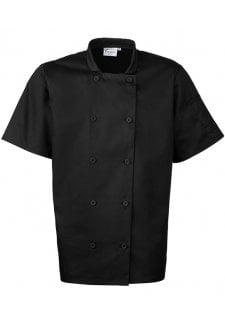 PR656 Short Sleeved Chefs Jacket
